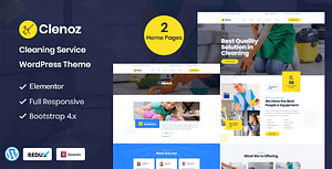 Clenoz – Cleaning Service WordPress Theme