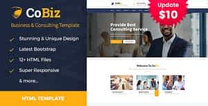 Cobiz – Consulting & Business HTML Template