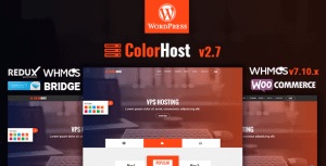 ColorHost   Responsive Web Hosting and WHMCS WordPress Theme