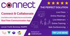 Connect – Live Class, Meeting, Webinar, Online Training & Web Conference