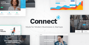 Connect – Software Company Theme