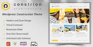 Constrion – Construction and Builder WP Theme