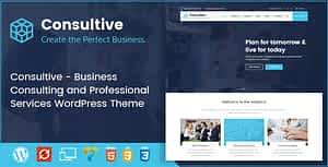 Consultive – Business Consulting and Professional Services WordPress Theme
