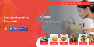 Cook Note – Food Recipes HTML Template