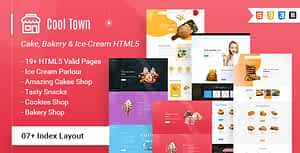 Cool Town | Ice Cream Bakery HTML5 Template