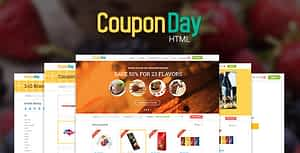 CouponDay – Clean and Premium Coupon Template