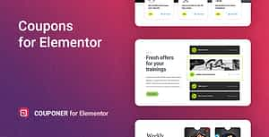 Couponer – Discount Coupons for Elementor