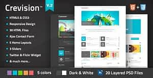 Crevision – Responsive HTML Template