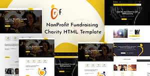 Crf – Crowdfunding Charity HTML Template