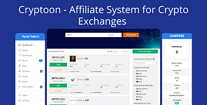 Cryptoon – Affiliate System for Crypto Exchanges