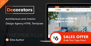 Decorators – HTML Template for Architecture & Modern Interior Design Studio