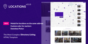 Directory Listing Template – Locations