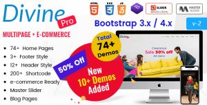 Divine Pro – Creative Agency & Business HTML Template