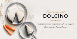 Dolcino – Pastry and Cake Shop Theme
