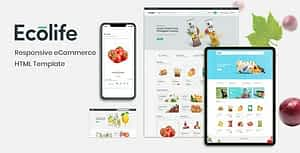 Ecolife – Multipurpose eCommerce HTML Template