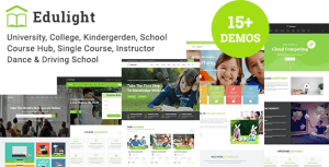 EduLight – Multipurpose Education Template