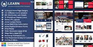 Download Education Course HTML Template