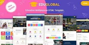 Education LMS and Courses HTML Template for Educational Site – Eduglobal