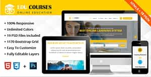 Education Online Courses Template