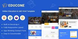 Educone – Education and LMS Html Template