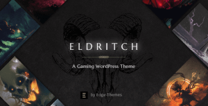 Eldritch – Epic Theme for Gaming and eSports