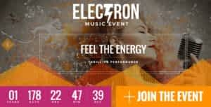 Electron – Event Concert & Conference Theme