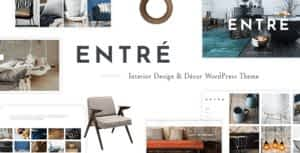 Entré – An Elegant Interior Design and Décor WordPress Theme
