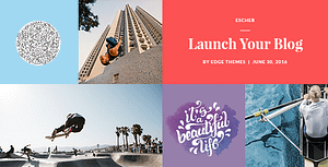 Download Escher – Blog WordPress Themes