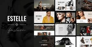 Estelle – Fashion and Modelling Agency Theme