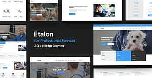 Etalon – Multi-Concept Theme for Professional Services