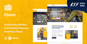 Eteon – Construction And Building WordPress Theme
