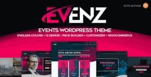 Evenz – Conference and Event WordPress Theme