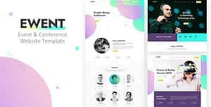 Ewent – Event & Conference Website Template