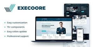 Execoore – Technology And Fintech Drupal 8 Theme