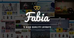 Fabia – Multipurpose Responsive WooCommerce WordPress Theme