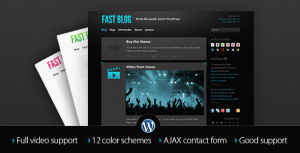 Fast Blog – Blog WordPress Theme