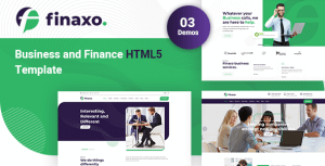 Finaxo – Business and Finance HTML5 Template