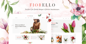Fiorello – Florist and Flower Shop Theme