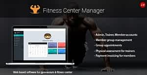 Download Fitness Center Manager PHP Script