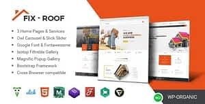 FixRoof – Roofing Service and Construction HTML Template
