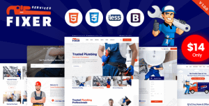 Fixer – Plumbing & Repair Services HTML Template