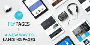 FlyPages – WordPress One Page Responsive Template with Builder