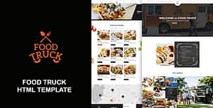 Food Truck – Street Trucks And Restaurant Responsive HTML Template