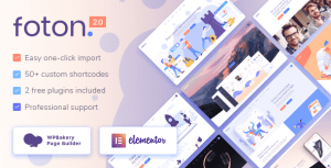 Foton – Software and App Landing Page Theme