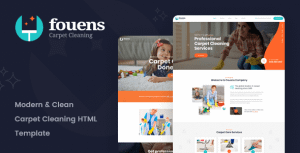 Fouens – Carpet Cleaning Company HTML Template