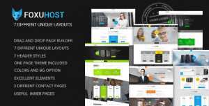 FoxuhHost – Web Hosting WordPress Theme