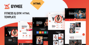 GYMEE – Fitness and Gym HTML5 Template