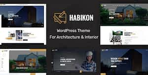 Habikon – Architecture and Interior Design WordPress Theme