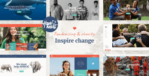 HaveHeart – Fundraising and Charity Theme