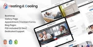 HeaCool – Heating & Air Conditioning HTML Template